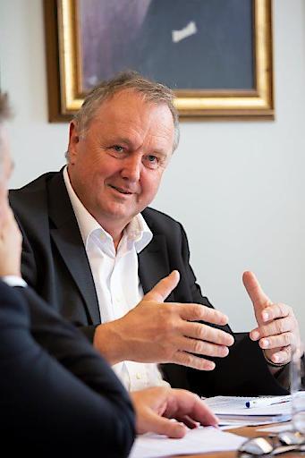 Dipl.-Ing. Karl Weidlinger, Geschäftsführer der Swietelsky Bausges.m.b.H.
