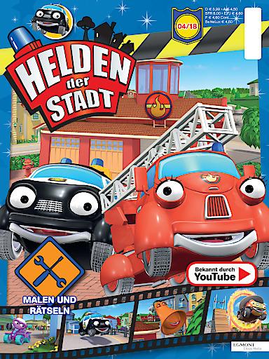 """Egmont Ehapa Launcht Toy Story Magazin: Bild: Offizielles Magazin Zur Serie """"Helden Der Stadt"""" Von"""