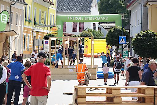 Hindernislauf in St. Lambrecht