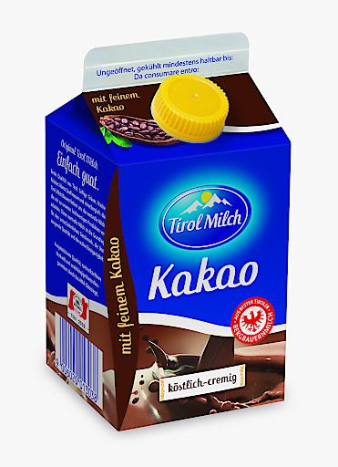 Bild zu OTS Tirol Milch Kakao