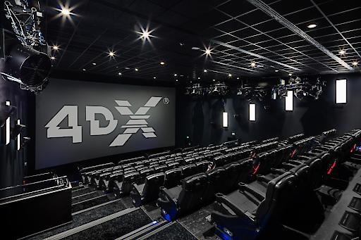 Hollywood Megaplex 4DX Kinosaal