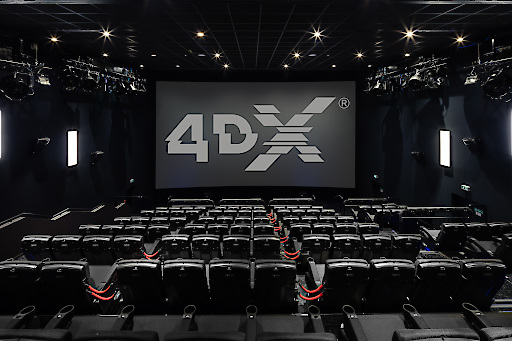 Hollywood Megaplex 4DX Kinosaal