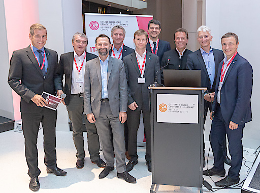 https://www.apa-fotoservice.at/galerie/15333 v.l.n.r: Werner Sejka (Moderator), Wolfgang Resch (Österreichische Computer Gesellschaft – OCG), Georg Beham (PwC | Partner, Cybersecurity & Privacy), Walter Khom (bit media e-Solutions GmbH), Matthias Schmidl (Datenschutzbehörde), Martin Leiter (ÖBB), Horst Nadjafi (msecure GmbH), Götz Blechschmidt (msecure GmbH), Ronald Bieber (OCG Generalsekretär).