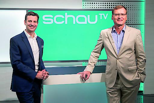 schauTV Geschäftsführer Thomas Kralinger und Programmleiter Matthias Hranyai
