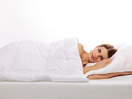 Kuschelweiche Maisfaser-Bettdecke von HEFEL. Speziell im Winter besonders angenehm.