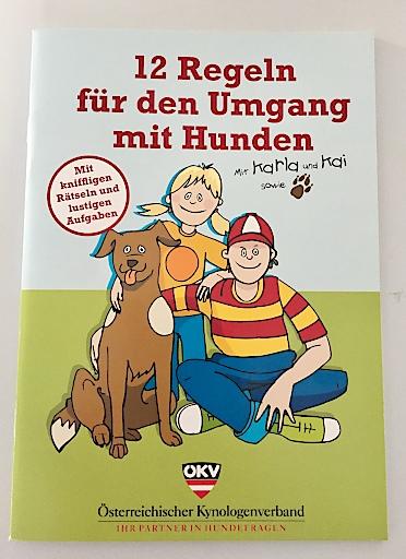 "Gratisbroschüre ""12 Regeln für den Umgang mit Hunden"""