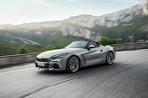Der neue BMW Z4. Premium-Sportwagen aus Österreich.
