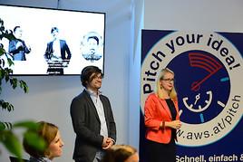 """aws """"Pitch your idea"""" schafft direkt und rasch Zugang zu Förderungen"""
