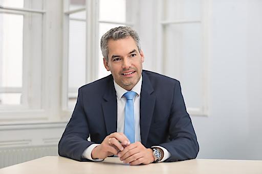 Karl Nehammer wird Integrations- und Migrationssprecher der neuen Volkspartei