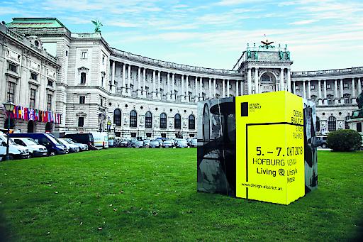 Die Wiener Hofburg wird zur Drehscheibe für den Design District 1010.