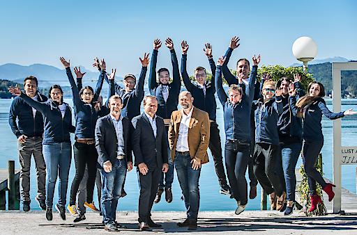 Gruppenfoto mit dem Insider Team