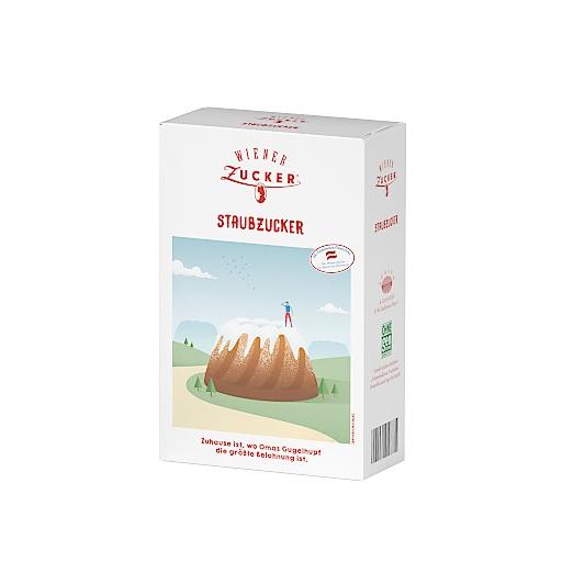 Wiener Zucker Produktverpackung Feinkristallzucker Zuhause ist