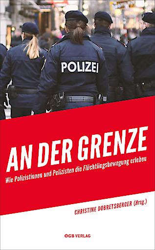 """Cover zum Buch """"An der Grenze"""""""