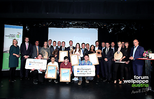 Best of Wellpappe Gewinner der Wellpappe Austria Awards 2018