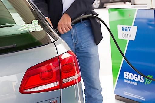 Grünes Gas für sauberes und günstiges Autofahren.