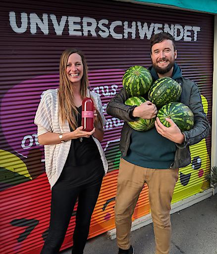 Cornelia und Andreas Diesenreiter, Geschwister und GründerInnen von Unverschwendet.