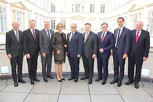 Außerordentliche Landeshauptleutekonferenz im Palais Niederösterreich