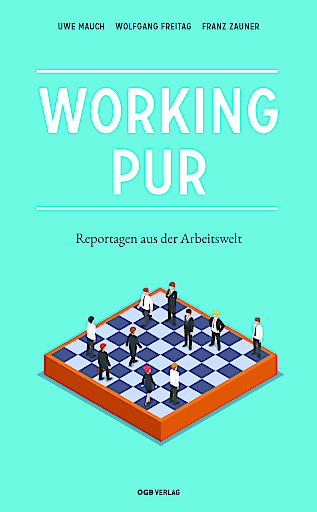 """Buchcover """"Working pur"""""""