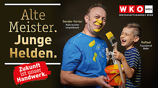 Die Herbstkampagne der Wirtschaftskammer Wien.