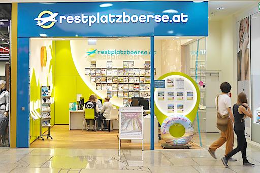 Neue Restplatzbörse Filiale in der Linzer Plus City
