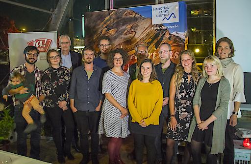 Nationalparks Austria Medienstipendiatinnen und Medienstipendiaten 2018