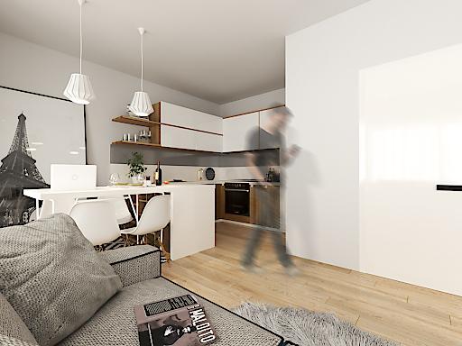 Rendering Interior Apartment