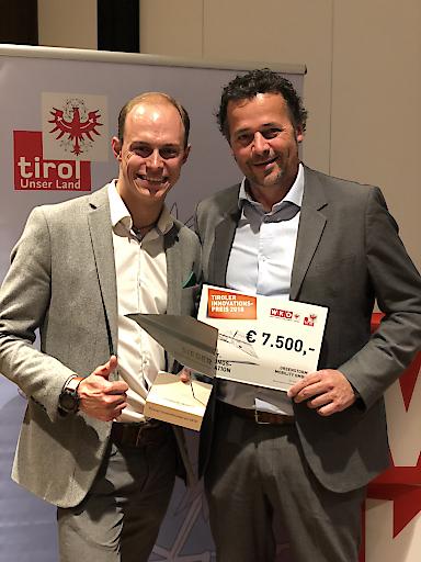 Tiroler Innovationspreis 2018 für Greenstorm-Händlerkonzept