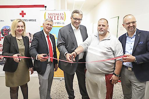 Das Chancenhaus Hermes für 150 wohnungslose Menschen ist mit heutigem Tag offiziell eröffnet.
