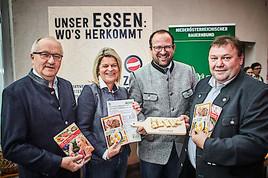 """""""Österreich isst frei""""- Aktionstag: Großes Interesse für Herkunftskennzeichnung in der Gemeinschaftsverpflegung"""