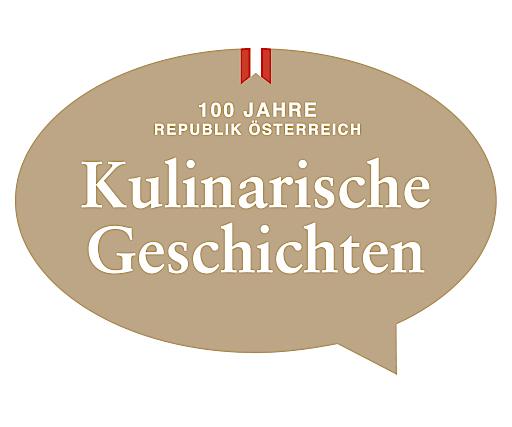 """Logo des Jahresmotto 2018 """"Kulinarische Geschichten"""""""