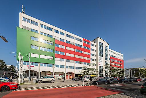 Das U 6 Center in der Lemböckgasse 49 im 23. Wiener Gemeindebezirk.