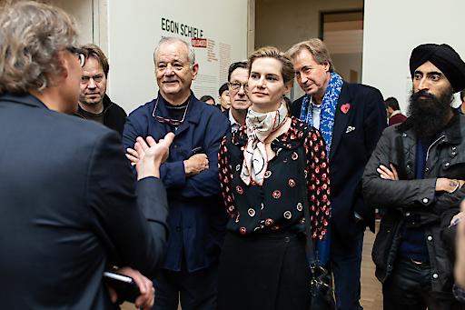 Prominenter Besuch im Wiener Leopold Museum