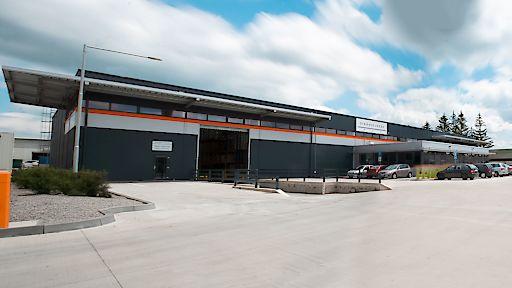 In Topolčany (Slowakei) errichtete die slowakische Tochter PEM - Haly s.r.o. mit Sitz in Košice bereits die 3. Halle für das slowakische Unternehmen PAP-PEX SLOVAKIA.