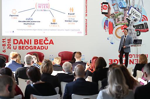 Konferenz Wien Tage in Belgrad