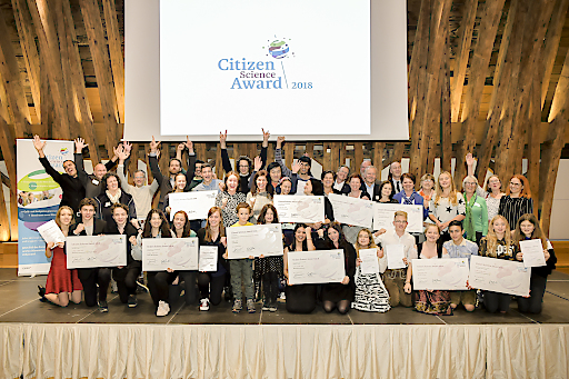 https://www.apa-fotoservice.at/galerie/16093 Die Gewinner des Citizen Science Award 2018.