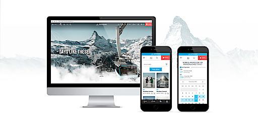 elements entwickelt für das größte Seilbahnunternehmen der Schweiz ein ganzheitliches Website-Konzept mit einfachem Bestellprozess für den perfekten Urlaub am Fuße des Matterhorns.
