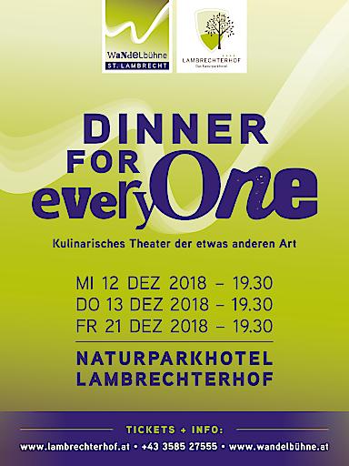Kulinarisches Theater der etwas anderen Art im Naturparkhotel Lambrechterhof****