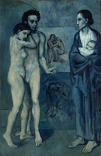 Picasso, La Vie © Succession Picasso / ProLitteris, Zürich 2018, (© The Cleveland Museum of Art)
