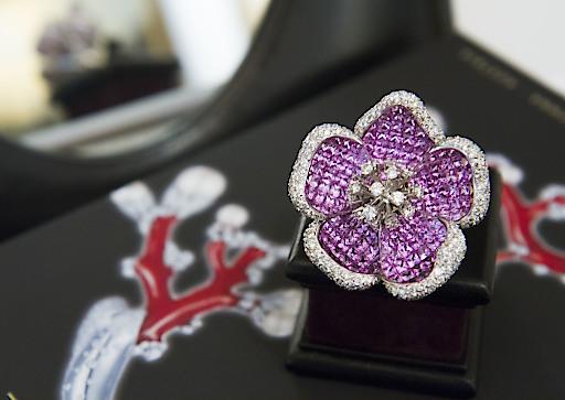 Brillantring PinkRibbon - Auktion zu Gunsten Pink Ribbon, Österreichische Krebshilfe