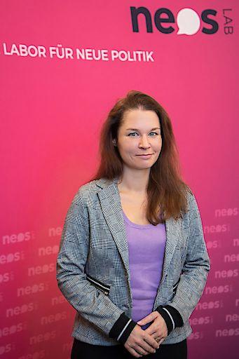 Birgit Allerstorfer, die neue NEOS Lab Direktorin.