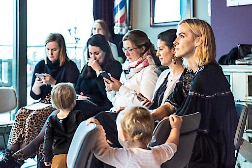 Mütter gegen Meningitis - Teilnehmerinnen am Blogger Event 1