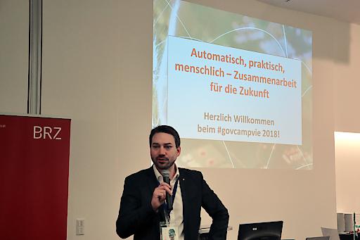 Eröffnung des govcamp vienna