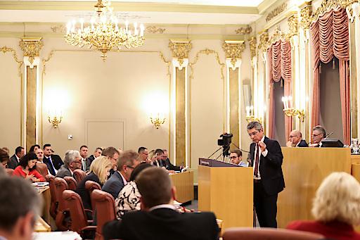 Debatte um das Landesbudget 2019 im Oö. Landtag