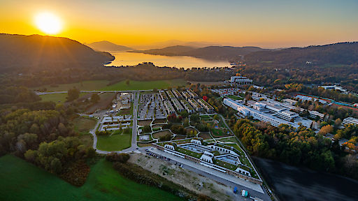 Lakeside Science & Technology Park - Aufnahme von oben