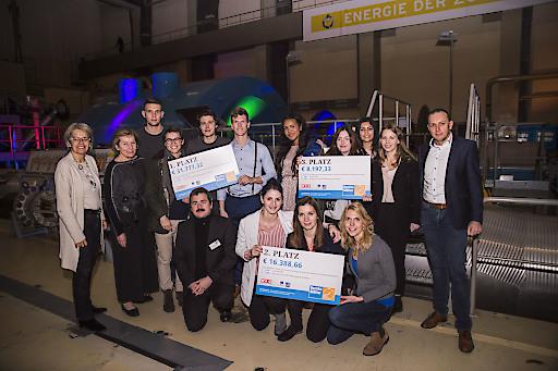 Landesrätin Petra Bohuslav & WKNÖ-Präsidentin Sonja Zwazl gratulierten den drei Gewinnerprojekten.