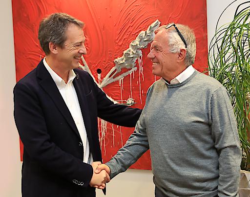 von links nach rechts: Werner Taurer und Manfred Kohl