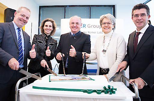 ERBER Group eröffnet neuen Standort in Tulln