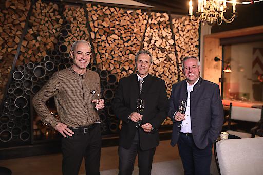 Die 3 Eigentümer - Dr. Martin Baldauf, Armin Ennemoser, Wolfgang Sommavilla