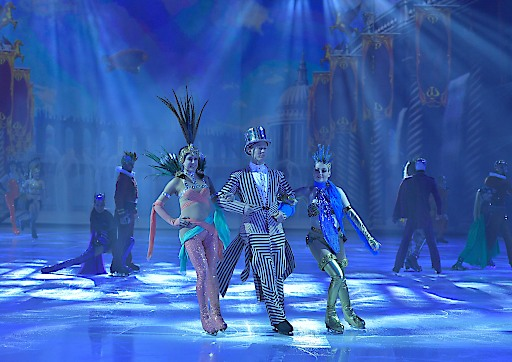 Happy Birthday Holiday on Ice - images from ATLANTIS, an original Holiday On Ice Production. All rights reserved Holiday On Ice Productions 2017. Scene photography by Deen van Meer