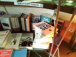 Das beste SEO-Buch als Hirnverstärker im Cafe Phil